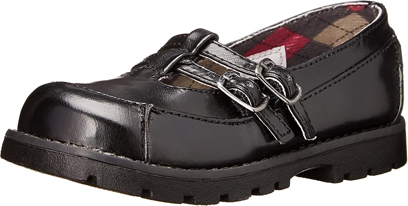 Classroom School Uniform Shoes Tootie T-Strap Mary Jane (Toddler/Little Kid/Big Kid) Black5.5 M US Big Kid