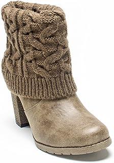 حذاء شتوي برقبة كريس للنساء من Muk Luks