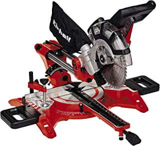 Einhell Dual Drag, Crosscut and Mitre Saw TC-SM 2131/1 (Max. 1800 W, 4900 rpm, integrated Drag Function, Workpiece Stop, C...