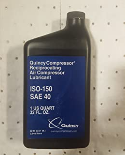 Quin-Cip Compressor Oil 40W-ISO 150, Quart Part# 2024601401