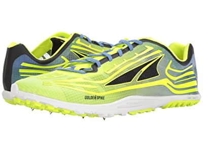 Altra Footwear Golden Spike (Lime/Blue) Athletic Shoes