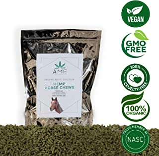 ame d'essence (12,000mg) Broad Spectrum Hemp Horse Chews Organic Relief Pellets 60 Scoops 30g/ea Made in The USA