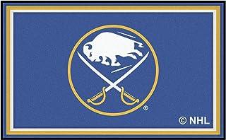FANMATS NHL Buffalo Sabres Nylon Face 4X6 Plush Rug