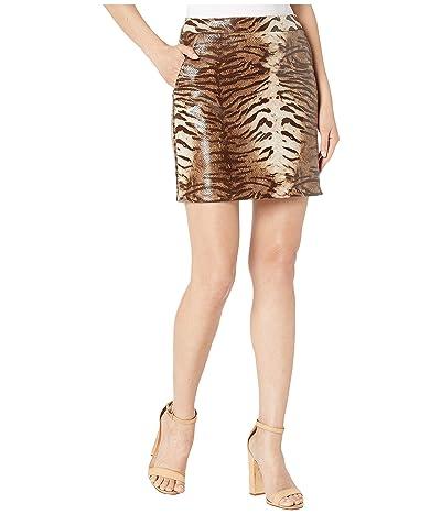 Bardot Alexis Animal Skirt (Pink Animal) Women