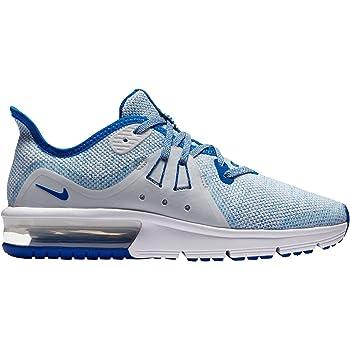 para justificar bandera Prefijo  Amazon.com: Nike Air Max Sequent 3 (GS) Big Kids 922884 – 401, Azul, 5 M US  niño: Shoes
