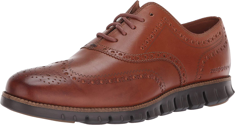 Cole Haan Herren Zerogrand Wing OX, British Tan Leather Java, 38.5 EU