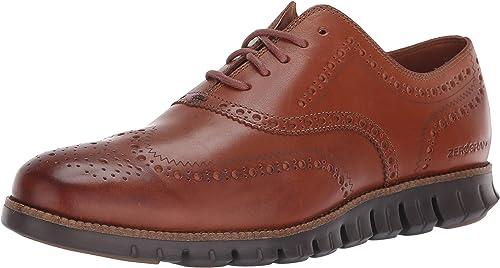 COZ7W  Cole Haan Zerogrand Wingtip, zapatos de Cordones Oxford para Hombre