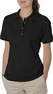 Ladies' 5.6 oz., 50/50 Jersey Polo with SpotShield 437W