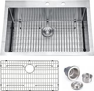 Best single drainer stainless steel sink Reviews
