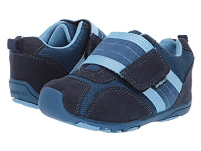 pediped Adrian Flex (Toddler/Little Kid) (Navy/Sky) Boys Shoes