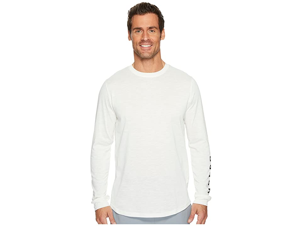 Under Armour Sportstyle Long Sleeve Graphic Tee (Ivory/Black) Men