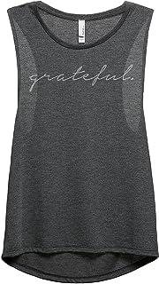 Thread Tank Grateful Women's Fashion Sleeveless Muscle Tank Top Tee