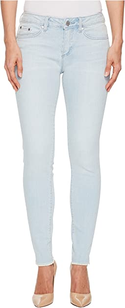 TWO by Vince Camuto - Indigo Released Hem Five-Pocket Ankle Jeans in Surf Wash
