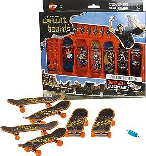 Hexbug Year 2014 Tony Hawk Circuit Boards 6 Pack Set - Red Hawk (001-BH), Robot (003-BH), Skeleton Hawk (009-BH), Pterodactyl (014-BH), Skeleton Hawk (016-BH) and Hawk on Skull (024-BH)