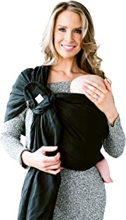 LÍLLÉbaby Ring Sling with Removable Pocket by LILLEbaby - Magic (Black)