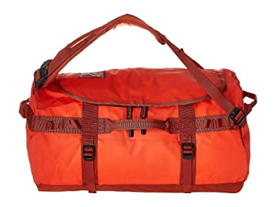 The North Face Base Camp Duffel Small (Acrylic Orange/Picante Red) Duffel Bags