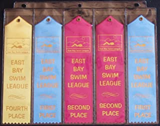 10 Swimming Ribbon Album Organizer Storage PAGES Award Ribbons Holder Display Gift Swim Gymnastics Track and Field