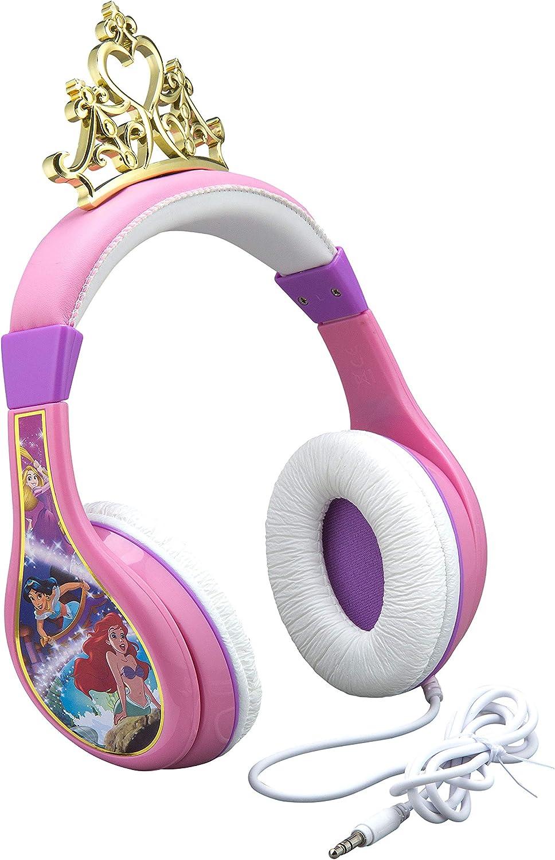Disney Ranking TOP20 Princess Kids Free shipping / New Headphones Sou Adjustable Stereo Headband