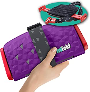 New mifold Comfort Grab-and-go Car Booster Seat- 3X Thicker Cushion! Compact and Portable for Every Day, Carpooling, Trave...