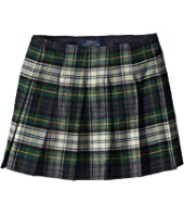 Polo Ralph Lauren Kids - Tartan-Print Pleated Skirt (Little Kids/Big Kids)