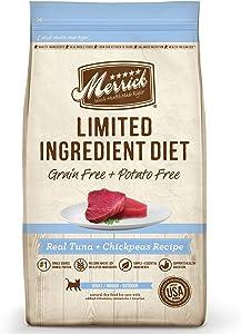 Merrick Grain Free Limited Ingredient Diet Real Tuna 7.0 lb Bag
