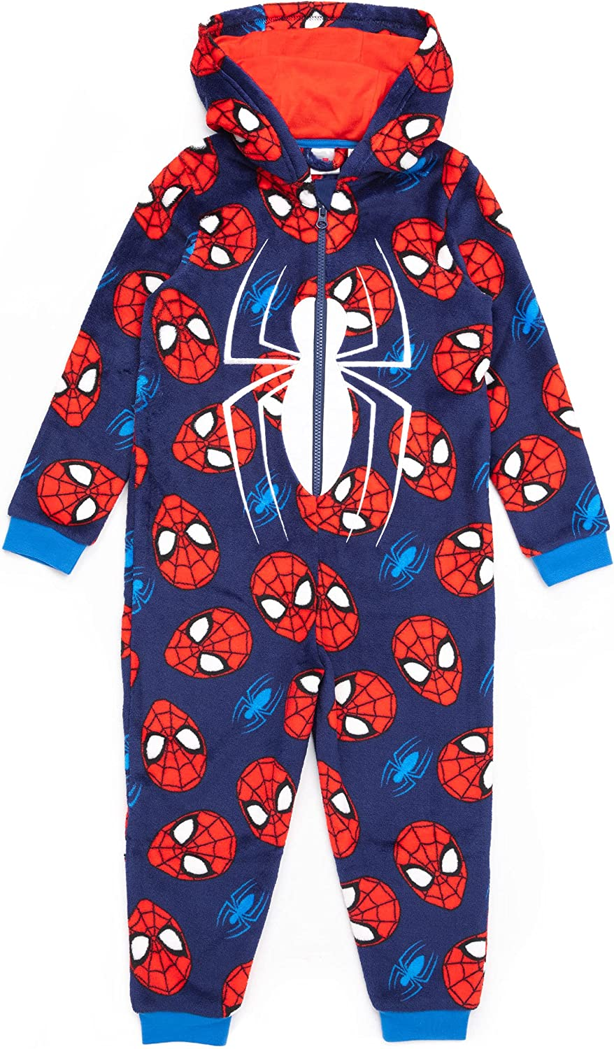 Marvel Safety and trust Spider-Man Onesie Pyjamas Boys 70% OFF Outlet Character Kids P Superhero