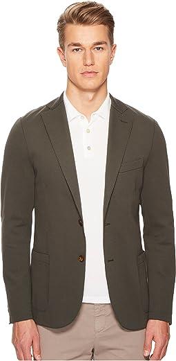 eleventy - Laser Cut Jersey Blazer