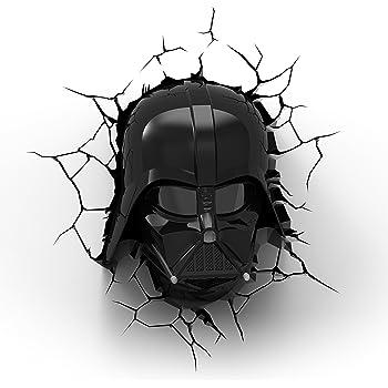 Star Wars Darth Vader 3d Wall Light With Remote Control Star Wars Movie Amazon Com