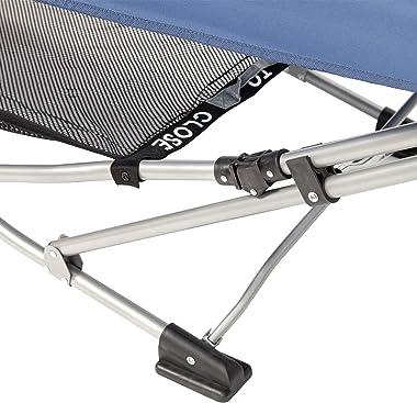 Mac Sports H807S-102 Collapsible/Foldable Folding Hammock, Trueblue