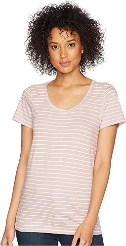 Zephyr/Marshmallow Stripe