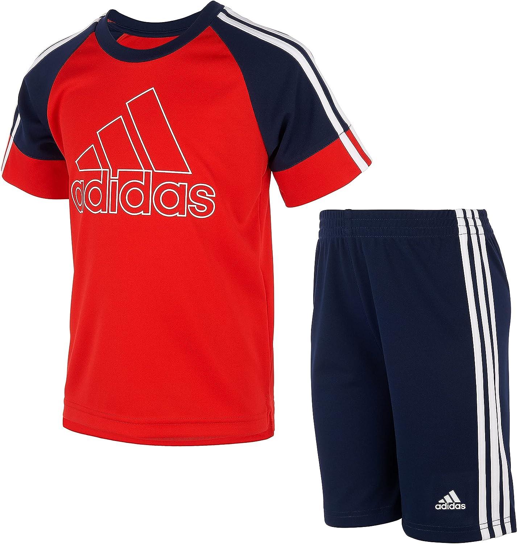adidas boys Goals Short Set Chi
