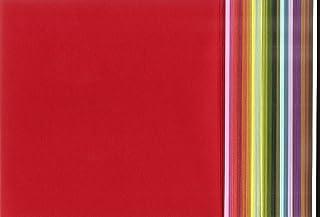【Amazon.co.jp 限定】和紙かわ澄 日本の色 色和紙 折紙 15cm 25色 各4枚 合計100枚入