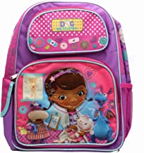 Full Size Purple and Pink Lamb Checkup Doc McStuffins Kids Backpack