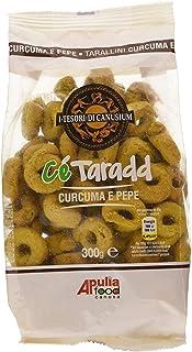 I Tesori Di Canusium Ce'Taradd Tarallini Curcuma e Pepe, 300 gr