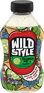 Wild Style Cucumber Mint Cooler Sauce (12 oz Bottle)