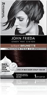 Frankel & Frankel John Frieda Precision 3n Foam Permanent Colour, Deep Brown Black - Kit, 2.4 Oz