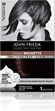 John Frieda Precision 3n Foam Permanent Colour, Deep Brown Black - Kit, 2.4 Oz