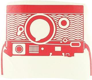 ملصق فينيل لماك بوك لكاميرا ماك بوك 2082-MAC-15P-DR - 15 بوصة MacBook Pro (2015 & Older) - أحمر