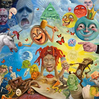 by Burning Desire Album Cover Poster Thick TRIPPIE REDD: Life's A Trip 12x18 inch Rolled