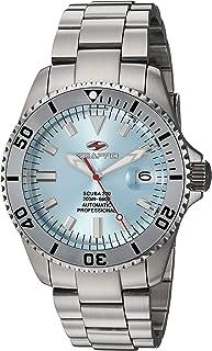 Seapro Men's Scuba 200 Automatic Stainless Steel Strap, Silver, 22 Casual Watch (Model: SP4317)