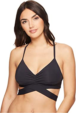 Bleu Rod Beattie - Kore Double Wrap X-Back D-Cup Bikini Top