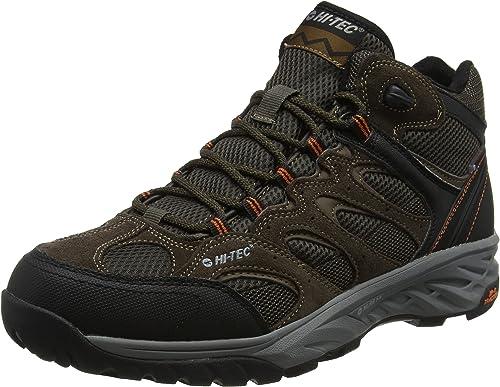 Hi-Tec Wild-Fire Mid I Waterproof, Chaussures de Randonnée Hautes Homme,