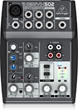 behringer xenyx 502 connect to computer
