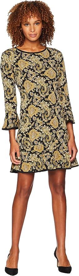 Sweetheart Flounce Dress