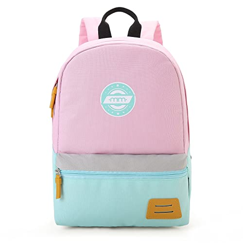 mommore Kids Backpack for School Lunch Bag with Chest Clip Best for 3-6  Years a658b28acb5f5