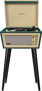 Best retro record player with legs Reviews