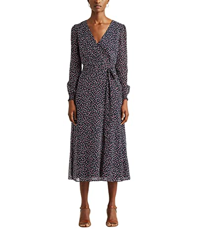 LAUREN Ralph Lauren Floral Georgette Dress Women