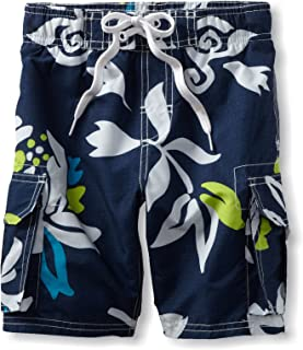 Kanu Surf Boys' Barracuda Quick Dry UPF 50+ Beach Swim Trunk