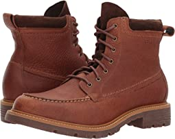 Keaton Waterproof Moc Toe Lace Boot