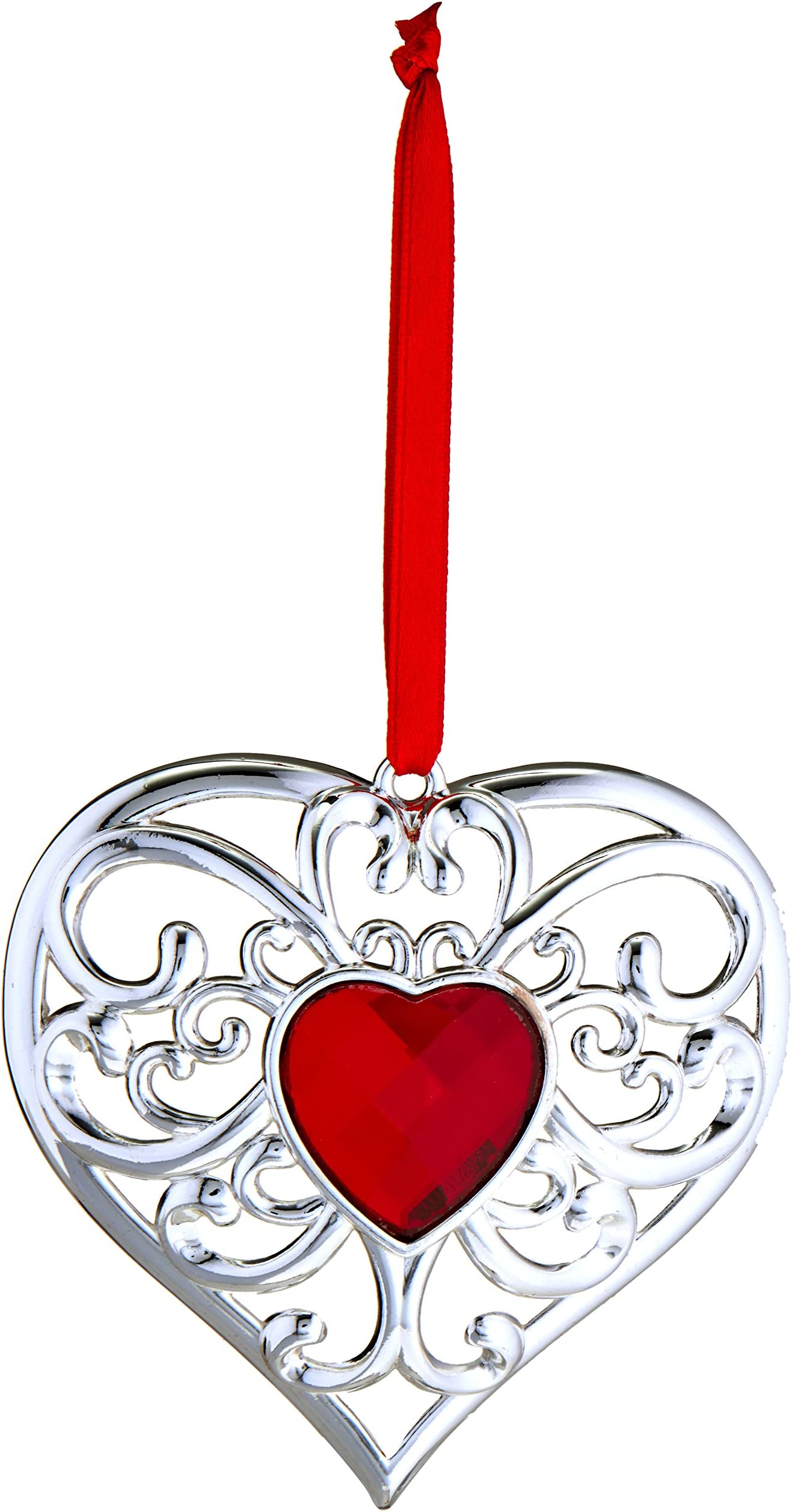 Lenox  For The Holidays Heart Love Ornament New